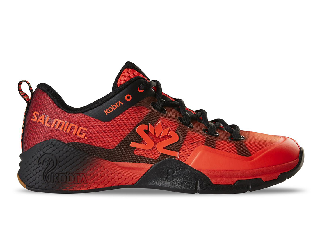 Salming Kobra 2 Shoe Men Red/Black 12,5 UK - 48 2/3 EUR - 31,5 cm