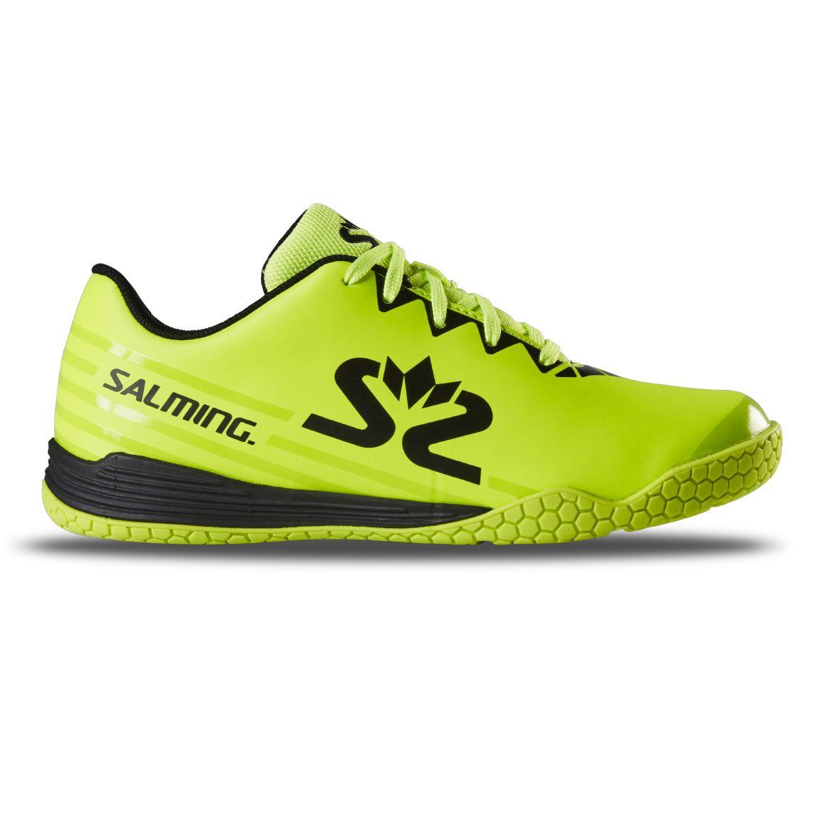 Salming Spark Shoe Kid Fluo Yellow/Black 4 UK - 37 EUR - 23,5 cm