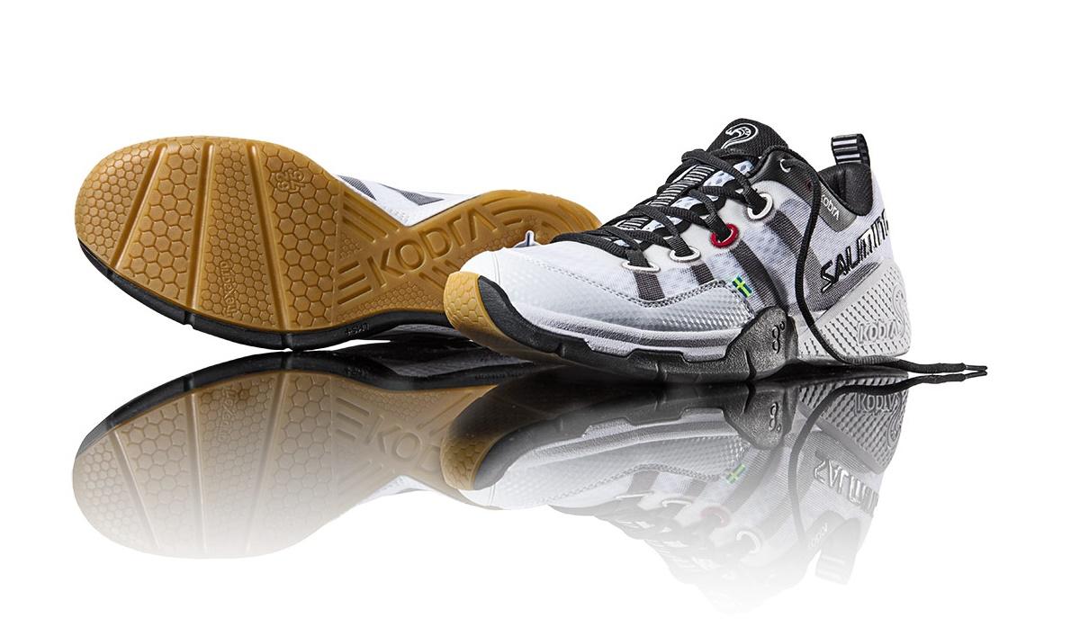 Salming Kobra Shoe Men White 12,5 UK - 48 2/3 EUR - 31,5 cm