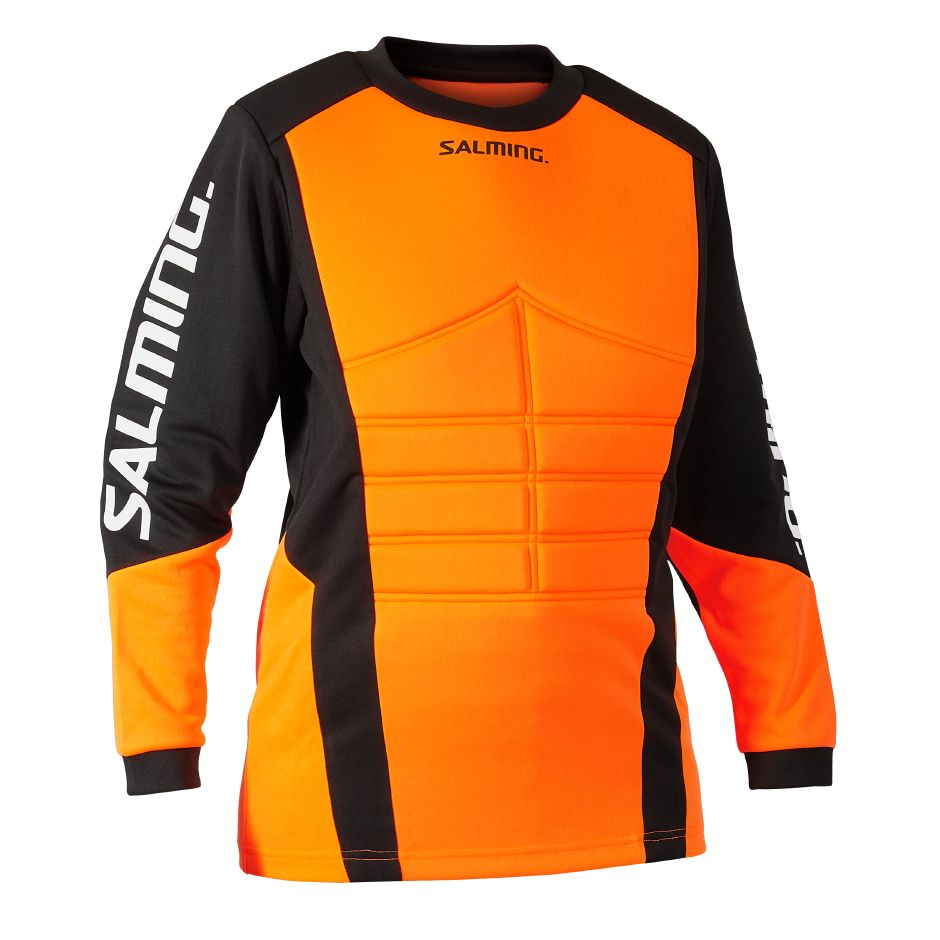 Salming Atlas Goalie Jersey JR Orange/Black 140
