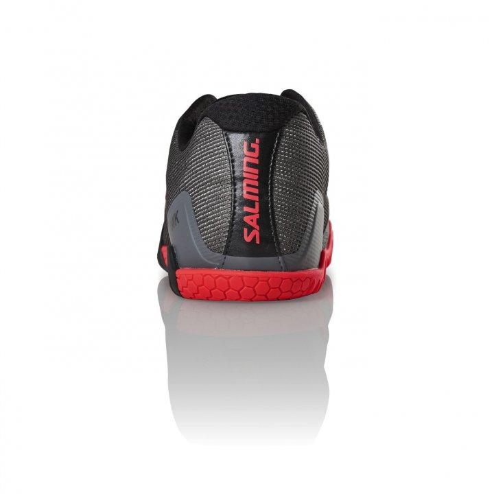 Salming Hawk Shoe Men GunMetal/Red 6,5 UK - 40 2/3 EUR - 25,5 cm