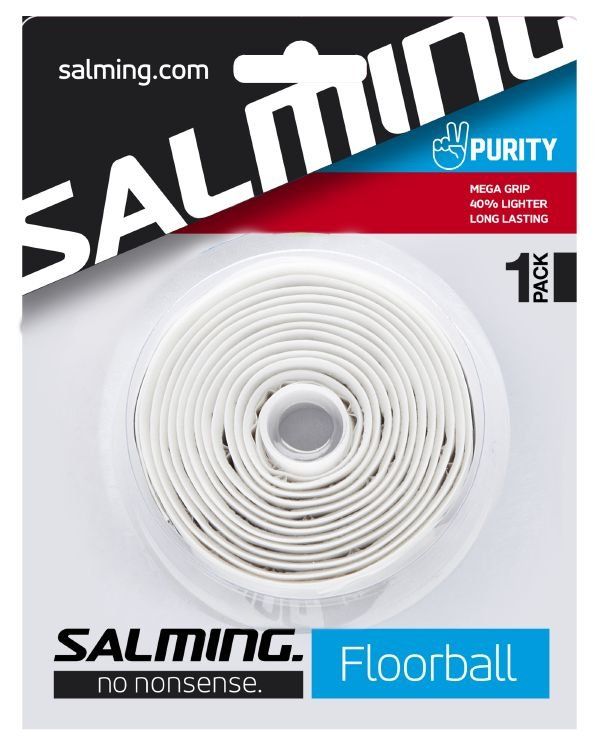 Salming Purtiy Floorball Grip White