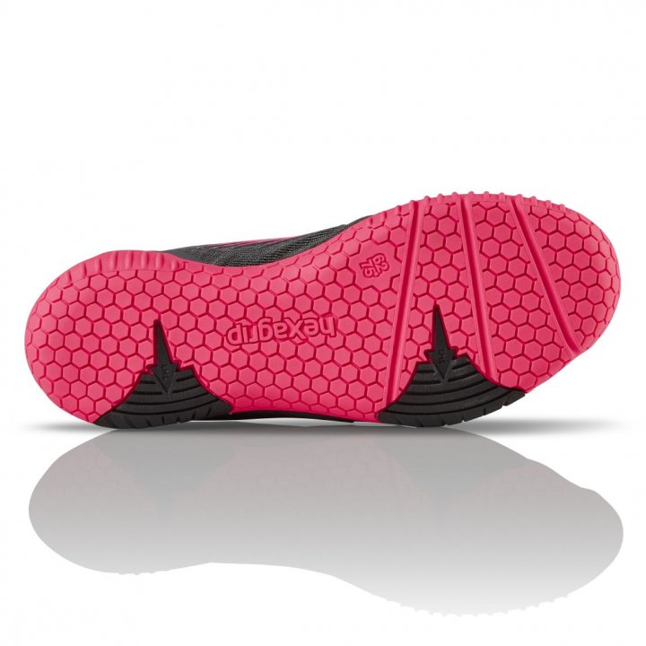 Salming Hawk Shoe Women GunMetal/Pink 3,5 UK - 36 EUR - 22,5 cm