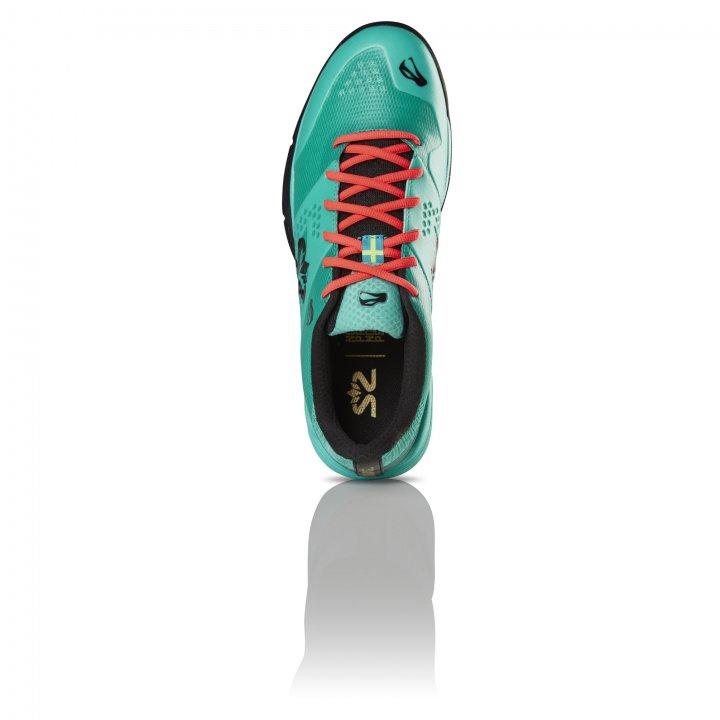 Salming Viper 5 Shoe Men Turquoise/Black 6,5 UK - 40 2/3 EUR - 25,5 cm