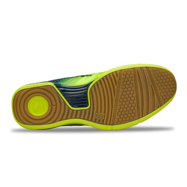 Salming Viper 5 Shoe Men Fluo Green/Navy 6,5 UK - 40 2/3 EUR - 25,5 cm