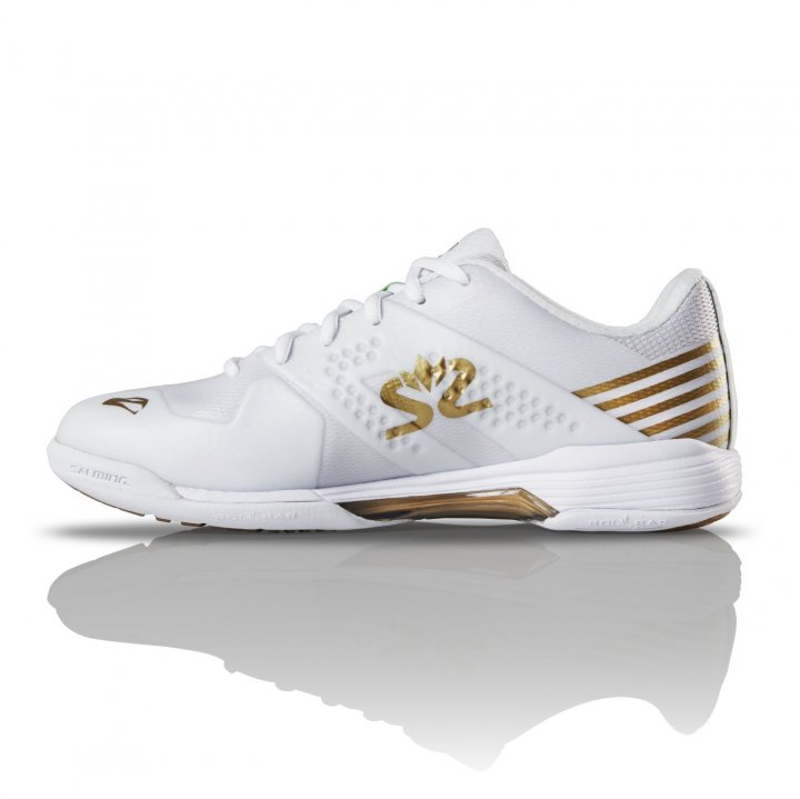 Salming Viper 5 Shoe Women White/Gold 3,5 UK - 36 EUR - 22,5 cm