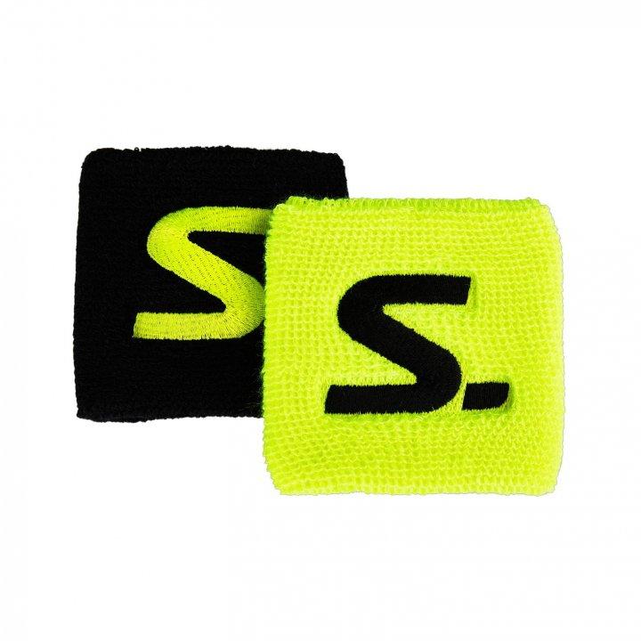 Salming Wristband Short 2-pack Yellow/Black