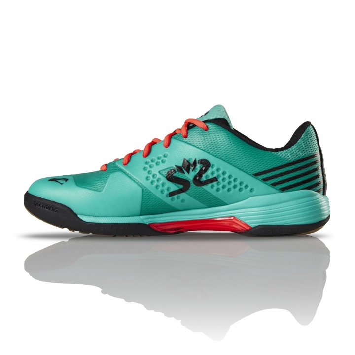 Salming Viper 5 Shoe Men Turquoise/Black 10,5 UK - 46 EUR - 29,5 cm