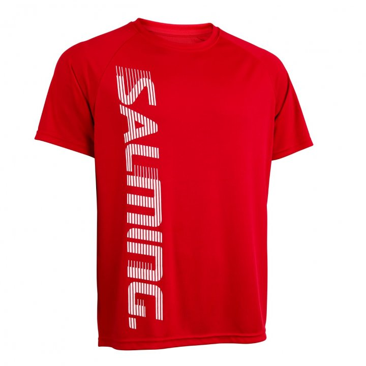 Salming Training Tee 2.0 Červená, XXL