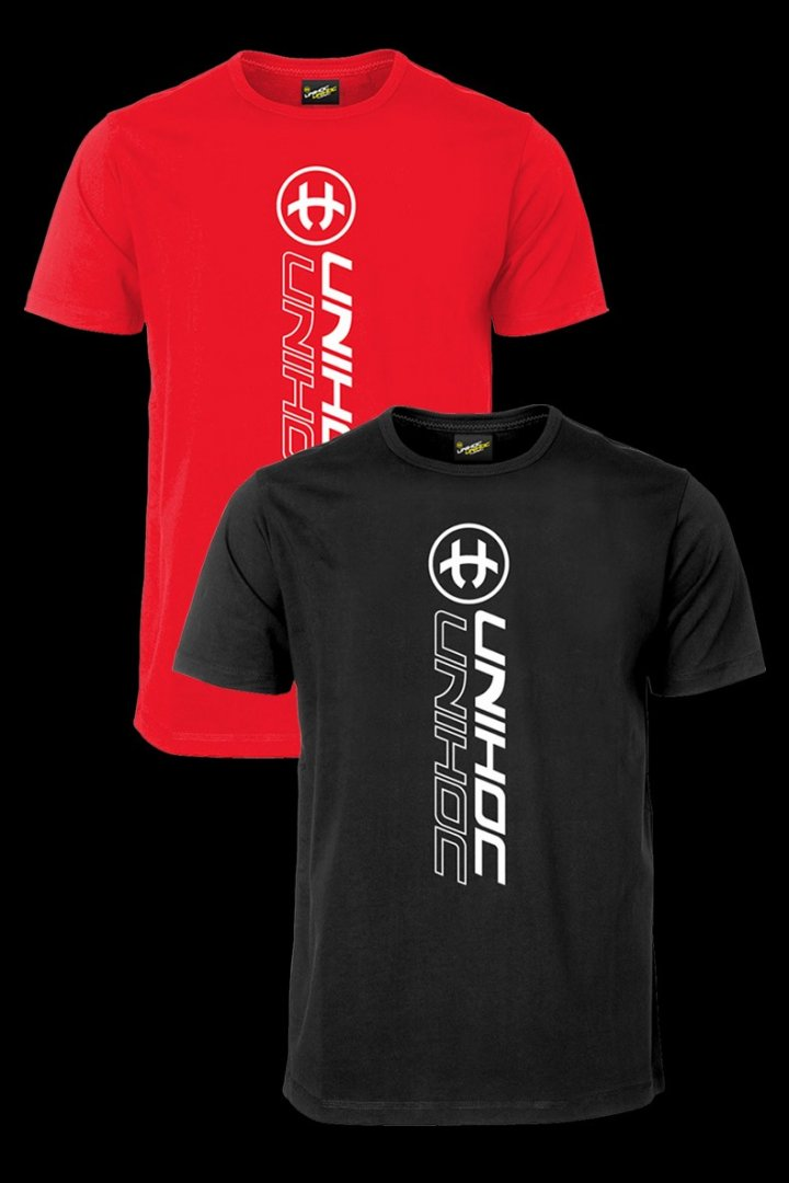 Unihoc T-shirt Player Red  120