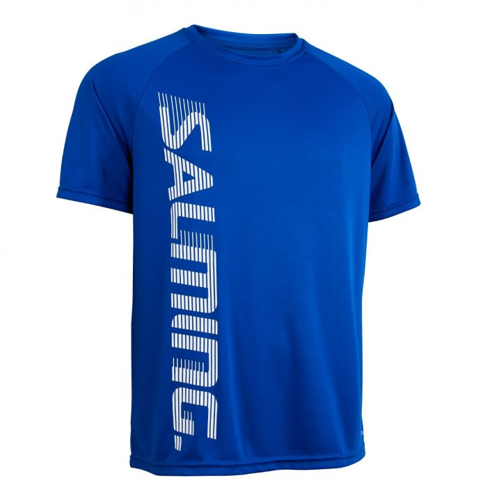 Salming Training Tee 2.0 Modrá, 140
