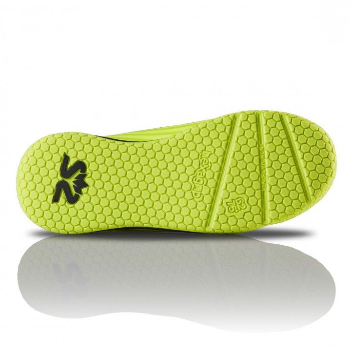 Salming Spark Shoe Kid Fluo Yellow/Black 3,5 UK - 36 EUR - 23 cm
