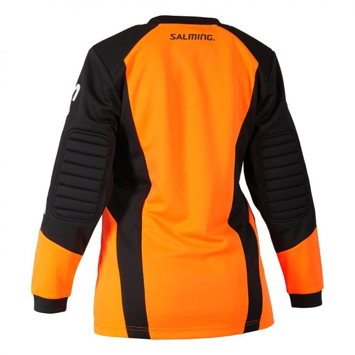 Salming Atlas Goalie Jersey JR Orange/Black 152