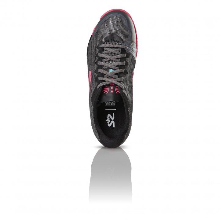 Salming Hawk Shoe Women GunMetal/Pink 4 UK - 36 2/3 EUR - 23 cm