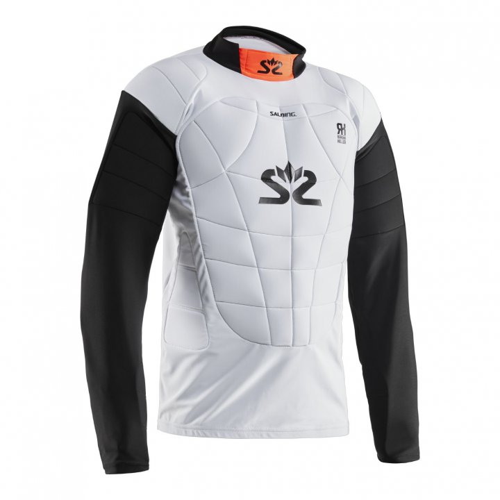 Salming E-Series Protective Vest White/Orange L
