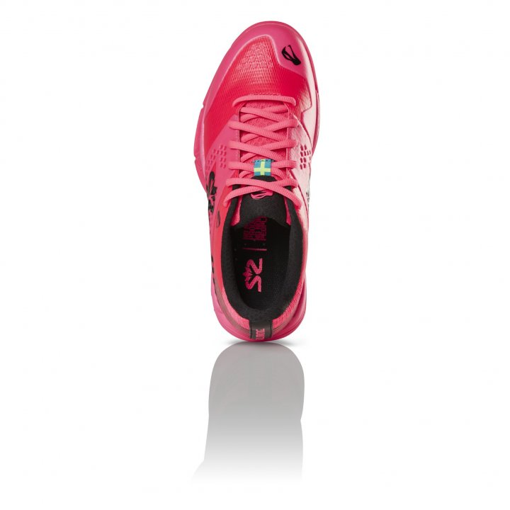Salming Viper 5 Shoe Women Pink/Black 3,5 UK - 36 EUR - 22,5 cm